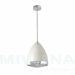 Lampetta lampa wisząca 1 biały 32 cm