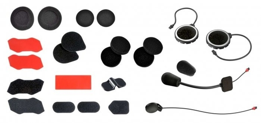 Sena mocowania, słuchawki mikrofony interkomu 10r