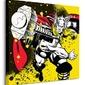 Thor splatter - obraz na płótnie