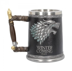 Winter is coming quot;gra o tronquot; - duży kufel