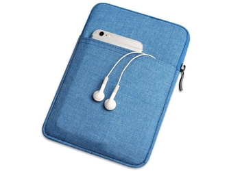 Etui pokrowiec miękki uniwersalny na tablet do 9,7 cali niebieskie - niebieski