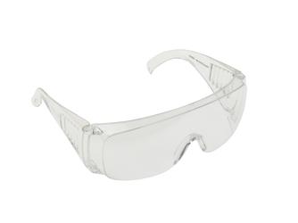 Okulary ochronne bezbarwne przeciwodpryskowe gogle robocze