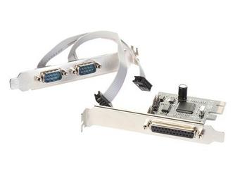 i-tec PCIe Card 2x Serial RS232 + 1x Parallel DB25