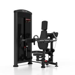 Maszyna na mięśnie naramienne mp-u228 - marbo sport - czarny  antracyt metalic