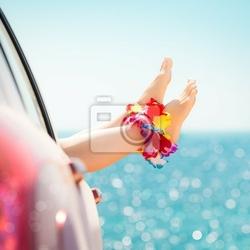 Obraz letnie wakacje koncepcji
