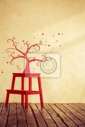 Obraz wyciągnąć rękę drzewo