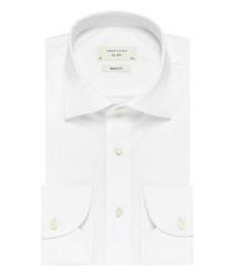 Biała klasyczna koszula męska regular fit, na guziki 42