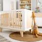 Łóżeczko dziecięce z wyjmowanymi szczebelkami lydia 120x60
