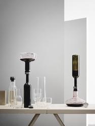 Karafka napowietrzająca do wina deluxe menu złota zatyczka 4683829