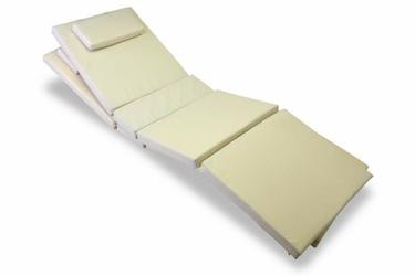 Poduszki ogrodowe x 2 - kremowe