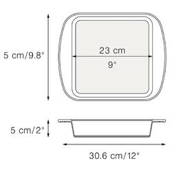 Forma do ciasta kwadratowa mastrad ma-f40214