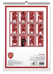 Arsenal fc - kalendarz a3 na 2021 rok