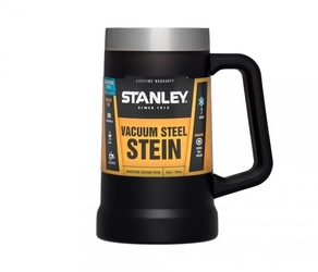 Kubek kufel termiczny stanley adventure vacuum stein 709 ml czarny