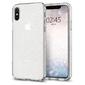 Etui spigen liquid crystal glitter apple iphone x  xs quartz - przezroczysty