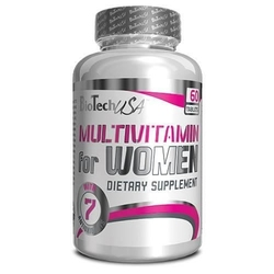 Biotech usa multivitamin for women - 60tabs