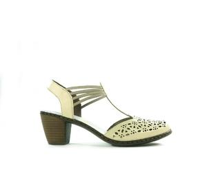 Sandały damskie rie 40969.beż