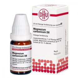 Magnesium carbonicum d 8 dil.