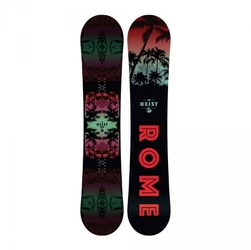 Deska snowboardowa rome heist 2018