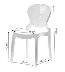 Krzesło do jadalni estera eleganckie