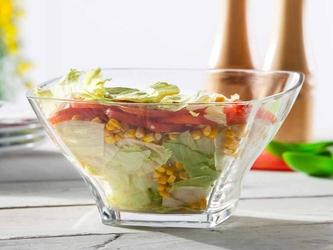Salaterka szklana hrastnik stephanie optic 18 cm