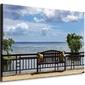 Widok na morze, mauritius - obraz na płótnie