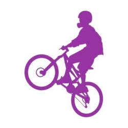 szablon malarski rower sp a41