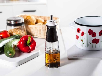 Butelka  karafka na sosy i dressingi z mieszadłem altom design 300 ml