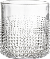 Szklanka Bloomingville z bąbelkami przezroczysta