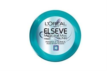 Loreal elseve magiczna moc glinki maska z glinką przed myciem włosów 150ml