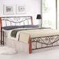 Łóżko klasyczne z wezgłowiem - 160 x 200 cm - roma ii