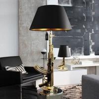 Lampa złoty kałasznikow