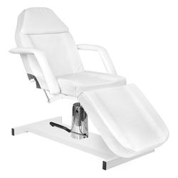 Fotel kosmetyczny hyd. basic 210 biały