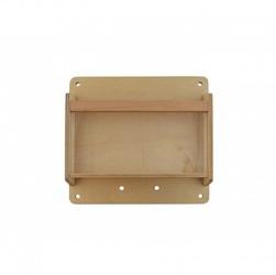 Drewniana kasetka na przedmioty 40 cm - tablica naukowo-kreatywna masterkidz stem