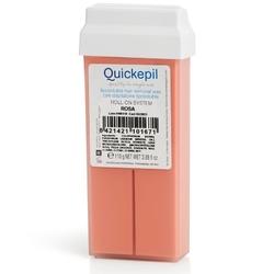 Quickepil wosk do depilacji rolka róża 110g
