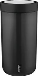 Kubek termiczny stalowy To Go Click 0,2 l czarny