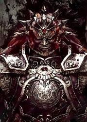 Legends of bedlam - ganondorf, the legend of zelda - plakat wymiar do wyboru: 50x70 cm