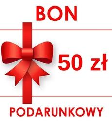 Bon podarunkowy 50