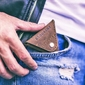 Skórzana bilonówka coin wallet brodrene cw01 jasnobrązowa - j. brązowy