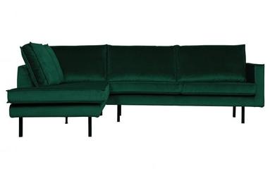 Be pure lewa sofa narożna rodeo zielony leśny 800972-162