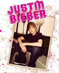 Justin bieber photo - plakat