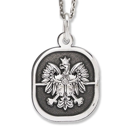 Wisiorek srebrny orzeł-4