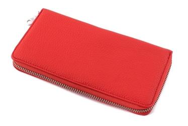 Duży portfel skórzany damski dragon 775 czerwony