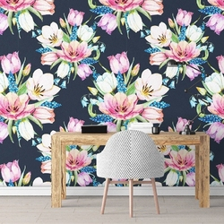 Art flora - tapeta ścienna , rodzaj - tapeta flizelinowa