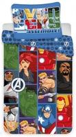 Pościel avengers komiks 140x200cm komplet pościeli