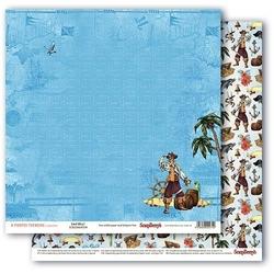 Papier 30x30 cm the pirate treasure - land ahoy - 04