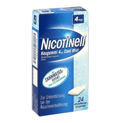 Nicotinell guma do żucia cool mint 4 mg