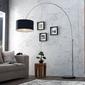 Interior space :: lampa podłogowa arch black
