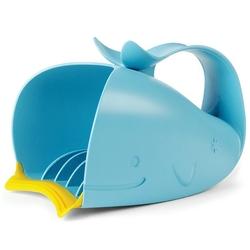 Kubełek do mycia włosów - wieloryb skip hop - seria moby niebieski
