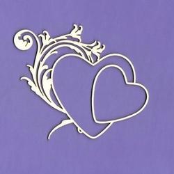 Dekoracyjna ramka Love Me Sweet 7,5x9 cm