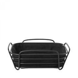 Koszyk na pieczywo 25 cm czarnoczarny - black